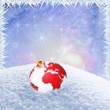 Het kader van de de wintervakantie Stock Foto's