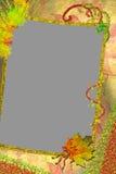 Het kader van de herfst voor een foto. Royalty-vrije Stock Foto