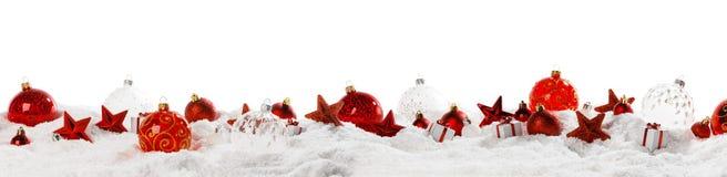 het kader van de Kerstmisdecoratie stock foto's