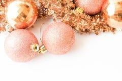 het kader van de Kerstmisdecoratie Royalty-vrije Stock Afbeeldingen