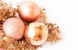 het kader van de Kerstmisdecoratie Stock Afbeelding