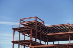 Het kader van de metaalbouw Royalty-vrije Stock Foto