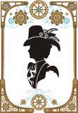 Het kader van de Steampunkstijl Royalty-vrije Stock Fotografie