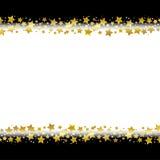 Het kader van de stergrens Stock Afbeelding