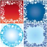 Het kader van de winter. Royalty-vrije Stock Afbeeldingen
