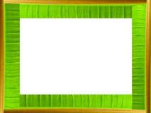 Het kader van het banaanblad Royalty-vrije Stock Foto's