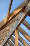 Het kader van het dak Stock Fotografie