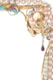 Het kader van juwelen Stock Foto