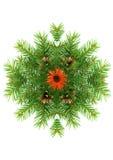 Het kader van Kerstmis Stock Afbeelding