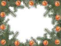 Het kader van Kerstmis Stock Foto's