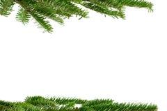 Het kader van Kerstmis Stock Fotografie