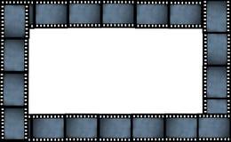 Het kaderachtergrond van de filmstrook Stock Afbeelding