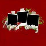 Het kaderquickpage van het huwelijk Royalty-vrije Stock Foto