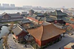 Het Kaifeng, Henan, China Stock Foto's