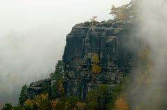 Het kalksteen van de herfst Royalty-vrije Stock Afbeelding