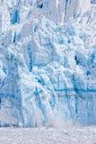 Het kalven gletsjer Stock Afbeeldingen