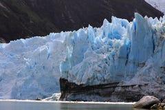 Het kalven Gletsjer Royalty-vrije Stock Foto's