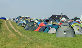 Het kamp 2012 van Budhist Stock Afbeelding