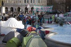Het Kamp Londen van het klimaat Stock Foto