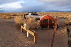 Het Kamp van Colorado Royalty-vrije Stock Afbeeldingen
