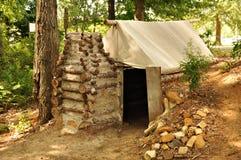Het Kamp van de Doorwaadbare plaats POW van het kamp Stock Foto's