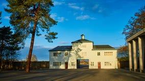 Het kamp van de Sachsenhausenopsluiting, Duitsland royalty-vrije stock foto's