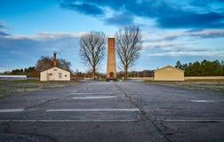 Het kamp van de Sachsenhausenopsluiting, Duitsland stock afbeeldingen