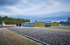 Het kamp van de Sachsenhausenopsluiting, Duitsland stock foto