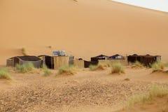 Het kamp van de woestijn royalty-vrije stock afbeelding