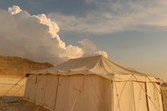 Het kamp van de woestijn Stock Fotografie