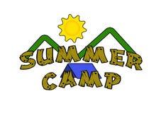 Het Kamp van de zomer Stock Foto