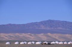 Het kamp van Gher Royalty-vrije Stock Foto's