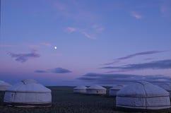 Het kamp van Gher Royalty-vrije Stock Afbeelding