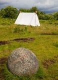 Het kamp van Viking Stock Afbeeldingen