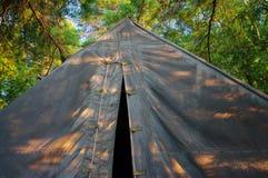 Het kamperen Stock Afbeelding