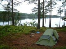 Het kamperen Stock Fotografie