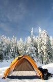 Het kamperen Royalty-vrije Stock Foto
