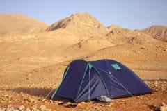 Het kamperen Stock Foto's