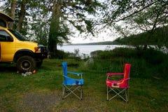 Het kamperen Royalty-vrije Stock Fotografie