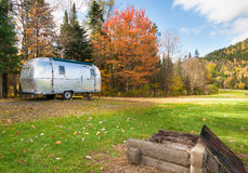 Het kamperen Amerikaanse stijl Stock Foto