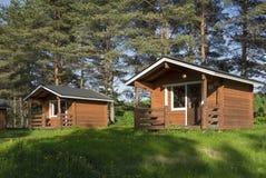 Het kamperen cabine Royalty-vrije Stock Afbeelding
