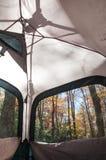 Het kamperen in de Blauwe Bergen van de Rand Royalty-vrije Stock Foto's