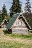 Het kamperen huizen Royalty-vrije Stock Afbeelding