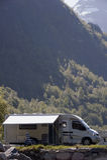 Het kamperen in Noorwegen Royalty-vrije Stock Foto
