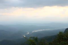 Het kamperen op berg Royalty-vrije Stock Foto