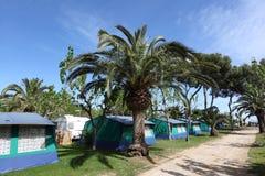 Het kamperen plaats Stock Afbeelding