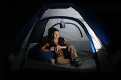 Het kamperen Reis Stock Afbeelding