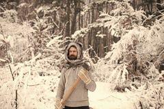 Het kamperen, het reizen en de winterrust royalty-vrije stock fotografie