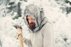 Het kamperen, het reizen en de winterrust stock fotografie