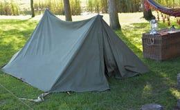 Het kamperen Tent Royalty-vrije Stock Foto's
